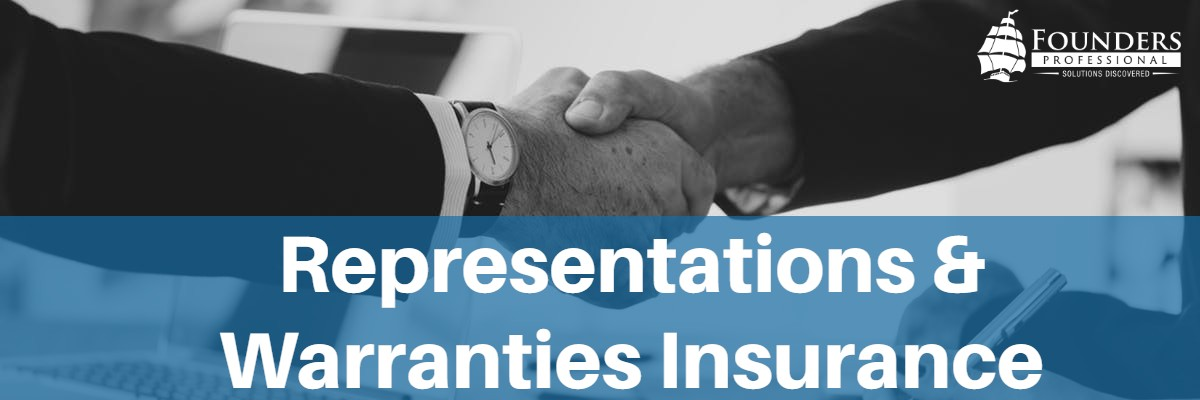 representations and warranies insurance from founders professional